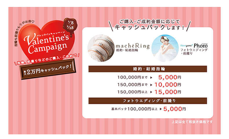 ハナユメ_バレンタインキャンペーン