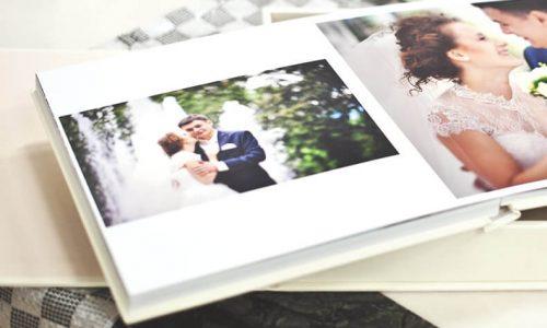 結婚式の写真アルバム