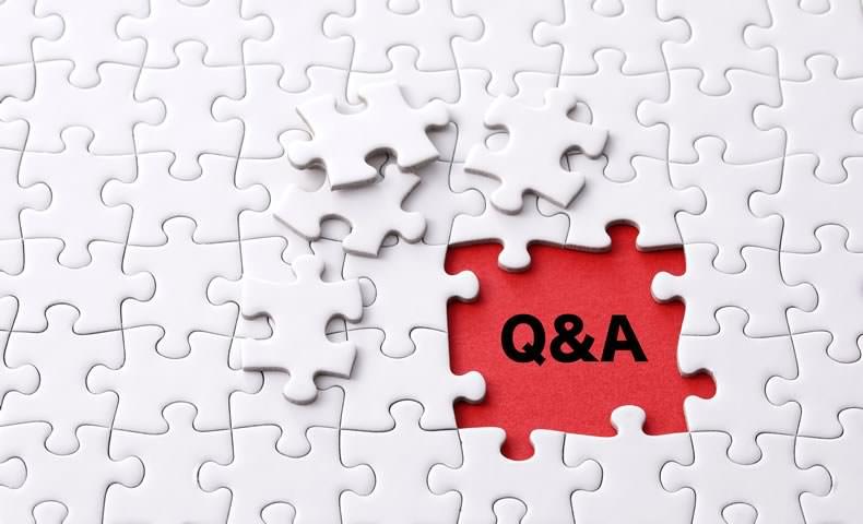 Q&Aのパズル